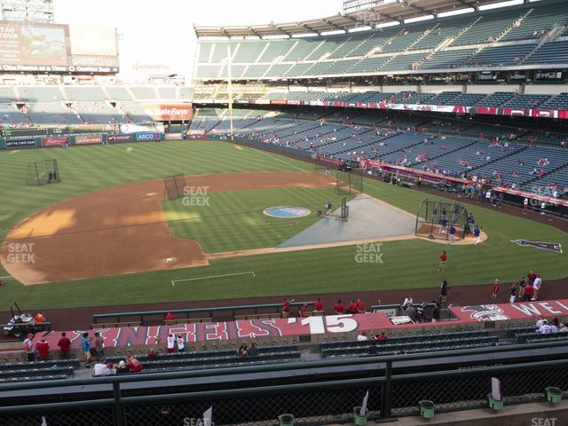 Angel Stadium of Anaheim Section 317 view