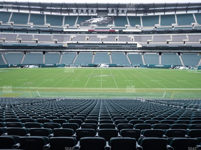 Lincoln Financial Field Section 119 view