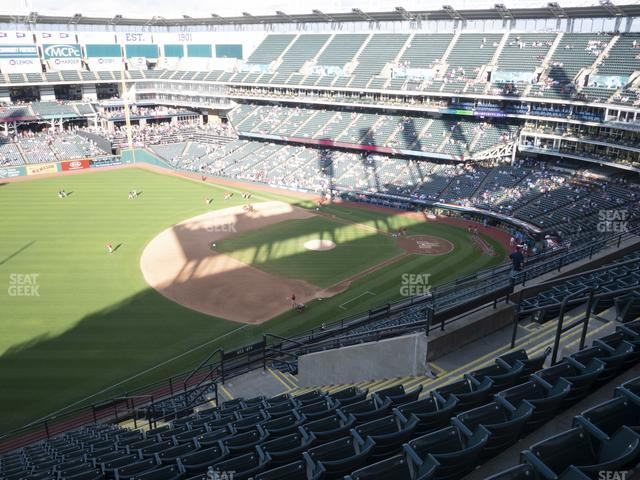 Progressive Field Section 572 view