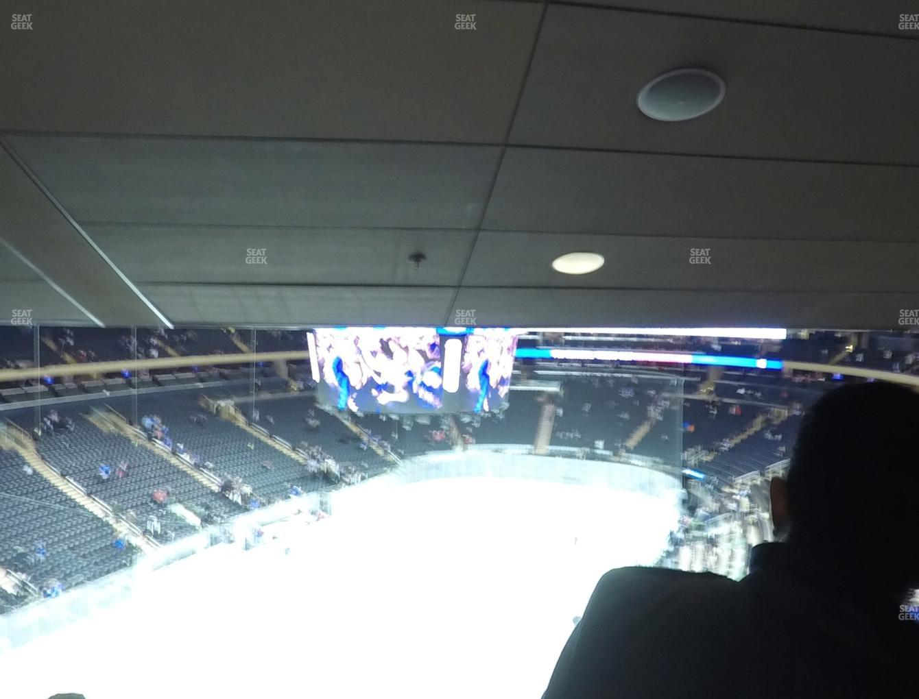 New York Rangers at Madison Square Garden Section 419 View
