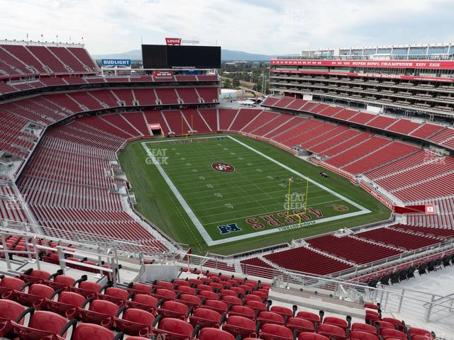 Levi's Stadium Section 401 view