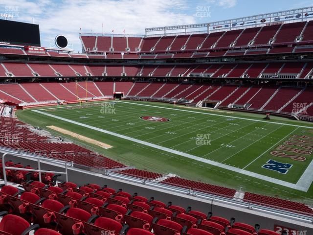 Levi's Stadium Section 233 view