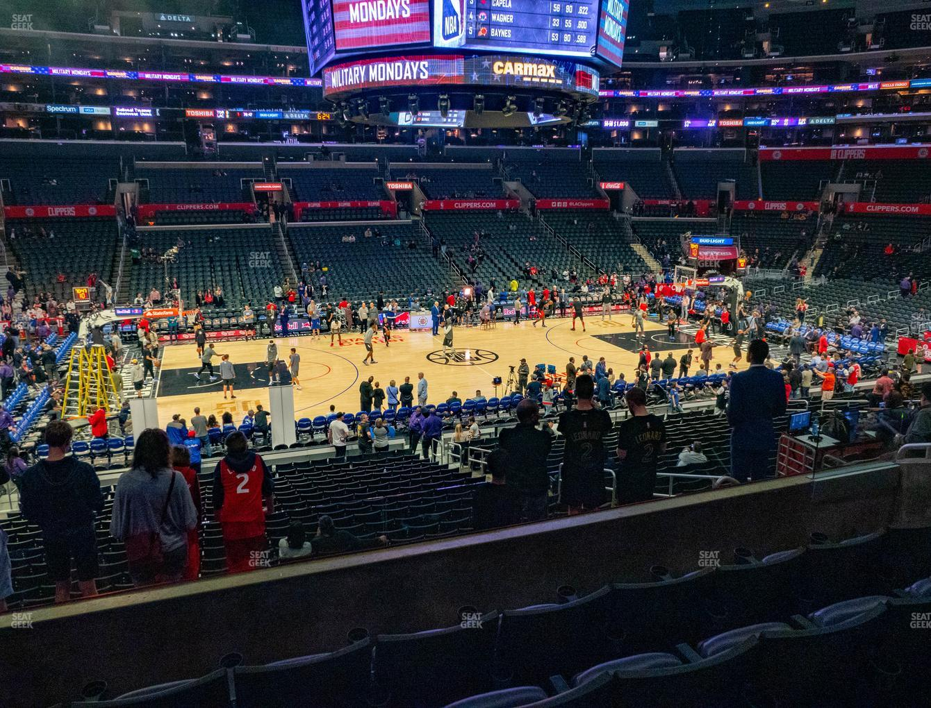 Los Angeles Lakers at Staples Center Premier 15 View