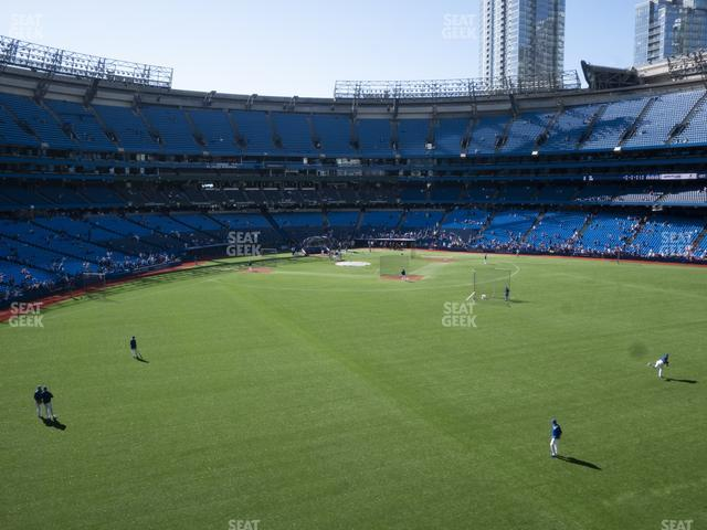 Rogers Centre Section 204 R view