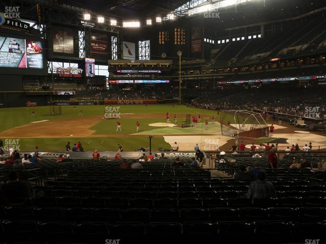 Chase Field Section 127 view