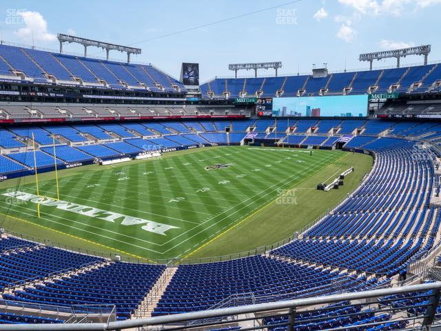 M&T Bank Stadium Section 235 view