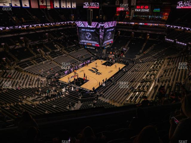 AT&T Center Section 229 view
