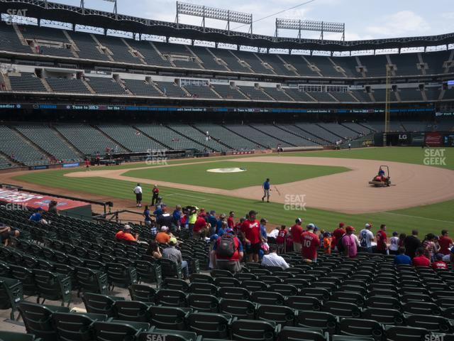 Globe Life Park Section 37 view