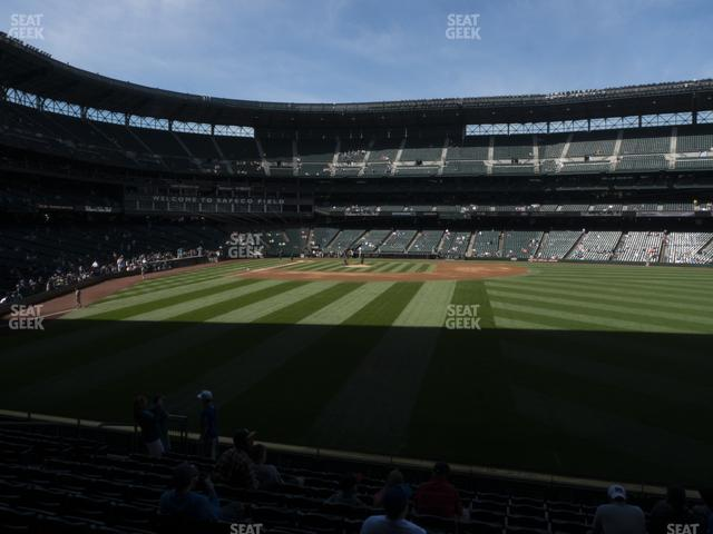 T-Mobile Park Section 107 view