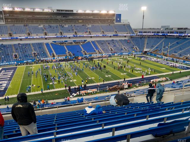 Kroger Field Section 204 view