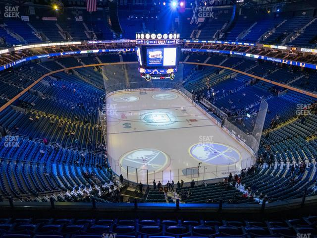 KeyBank Center Section 314 view