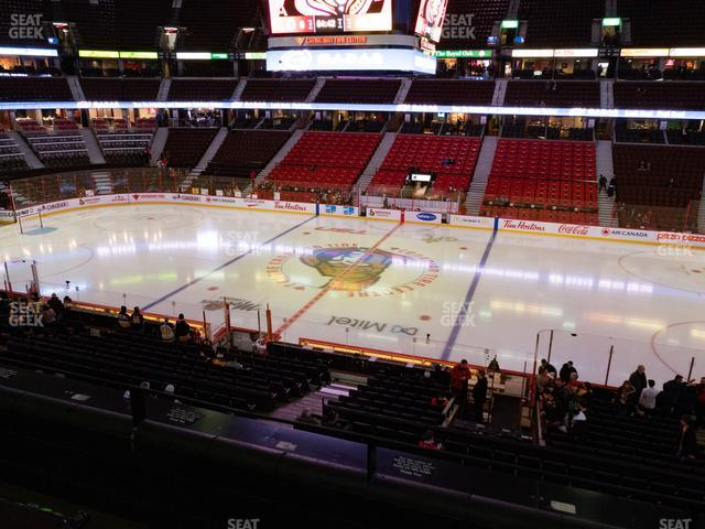 Canadian Tire Centre Section 207 view