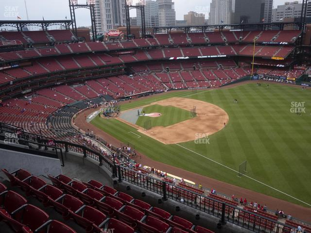 Busch Stadium Right Field Terrace 435 view
