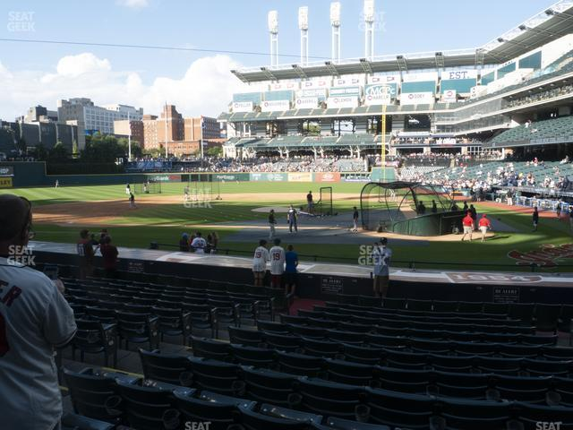 Progressive Field Section 158 view