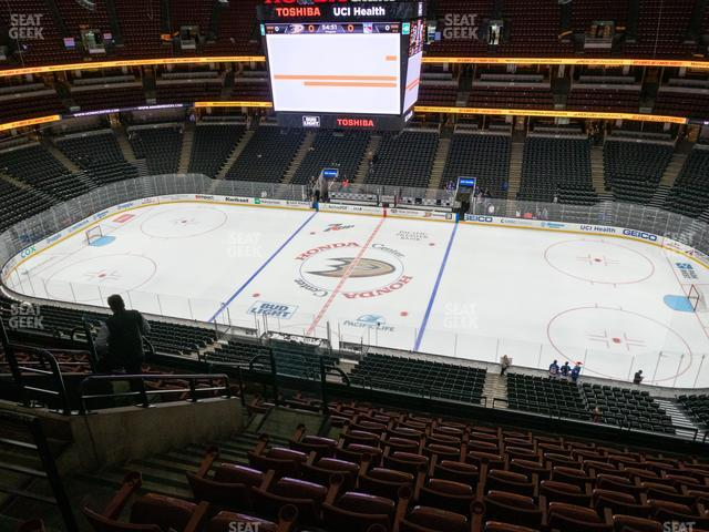 Honda Center Section 432 view