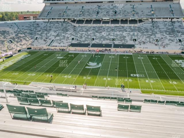 Spartan Stadium Section 108 view