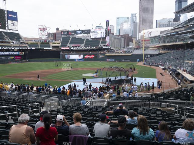 Target Field Section 117 view