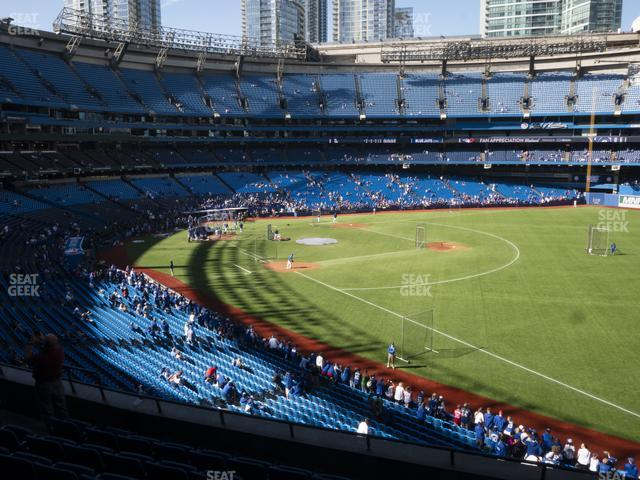 Rogers Centre Section 212 R view
