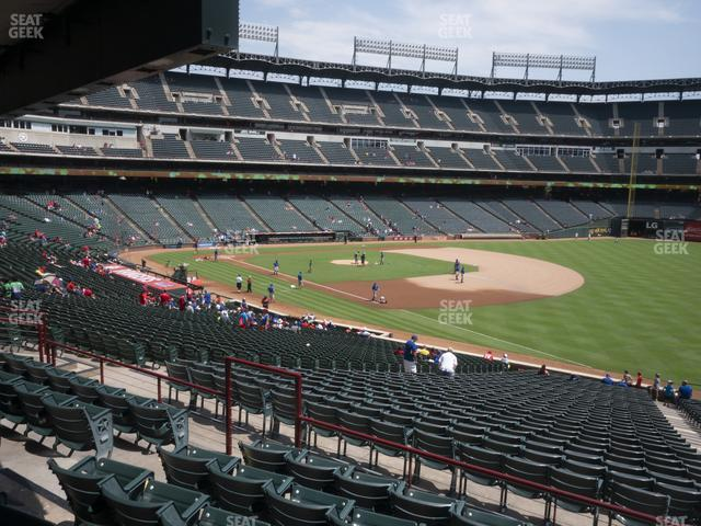 Globe Life Park Section 139 view