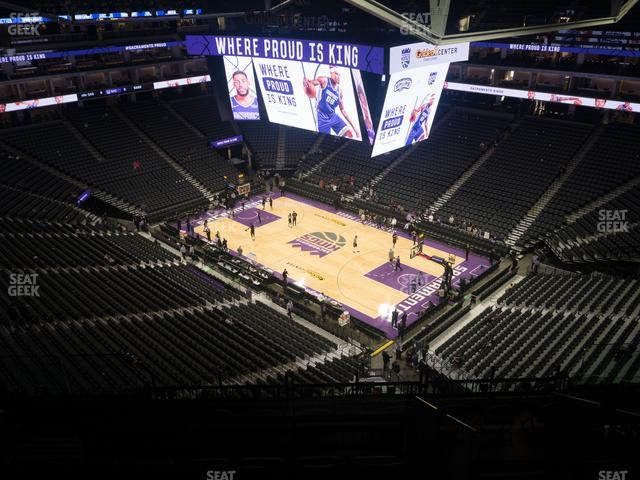Golden 1 Center Section 202 view