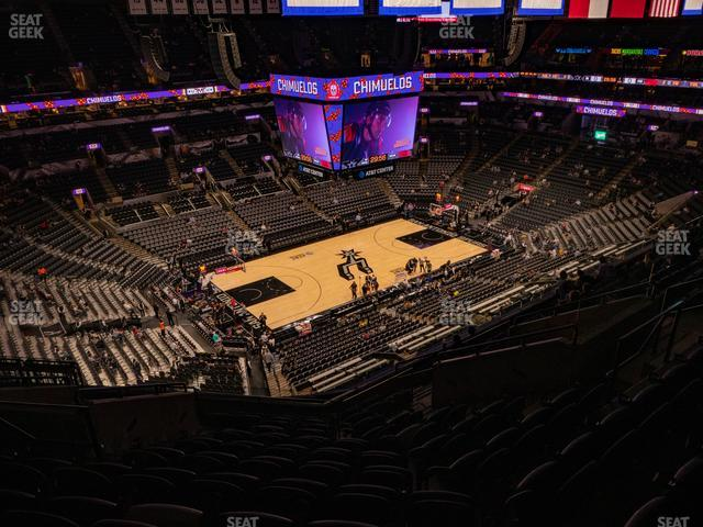 AT&T Center Section 211 view