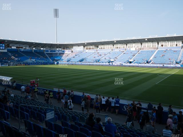 Saputo Stadium Section 101 view