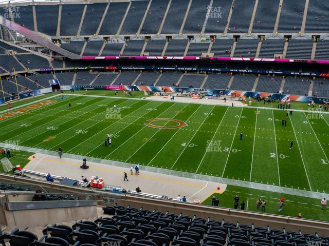 Soldier Field Section 307 view