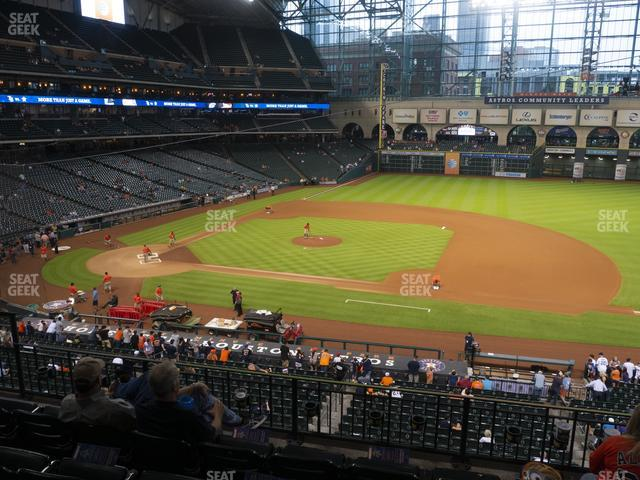Minute Maid Park Section 226 view