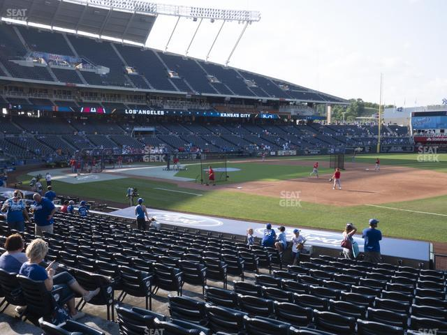 Kauffman Stadium Section 139 view