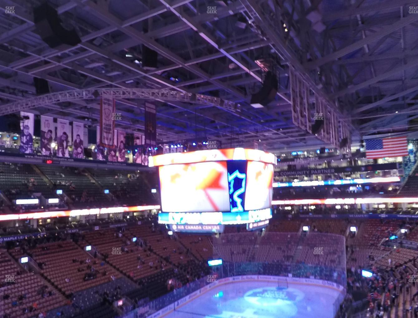 Toronto Maple Leafs at Scotiabank Arena Section 301 View