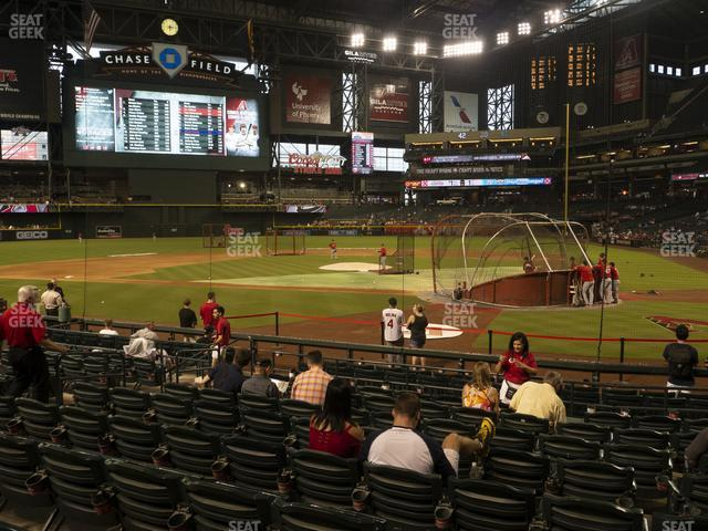 Chase Field Section L view