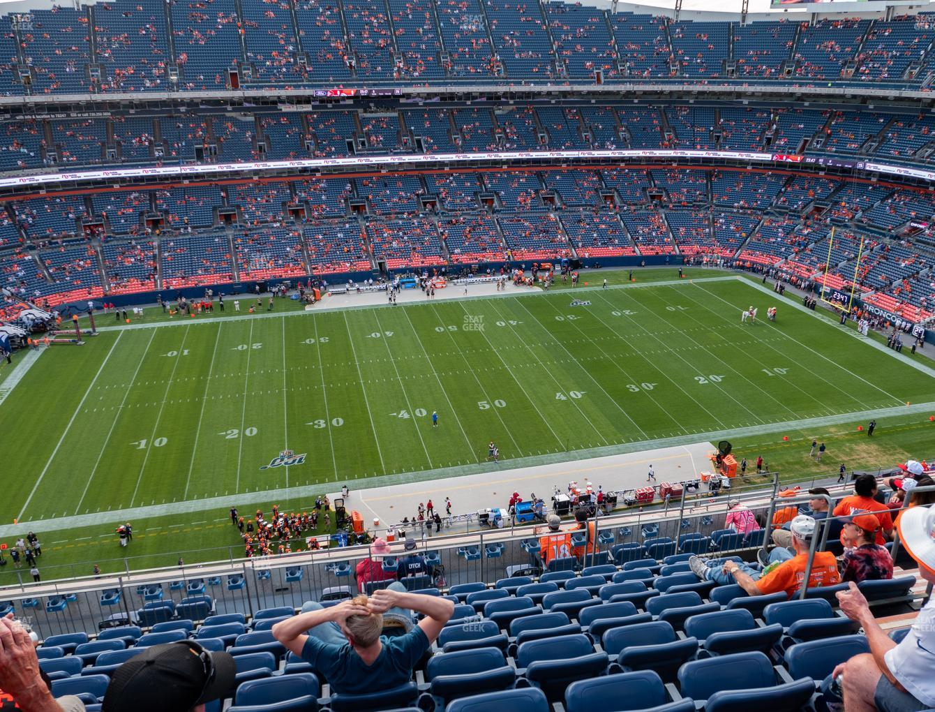 Denver Broncos at Empower Field at Mile High Section 536 View