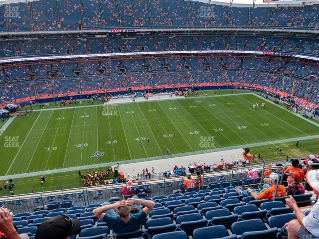 Empower FIeld at Mile High Section 536 view