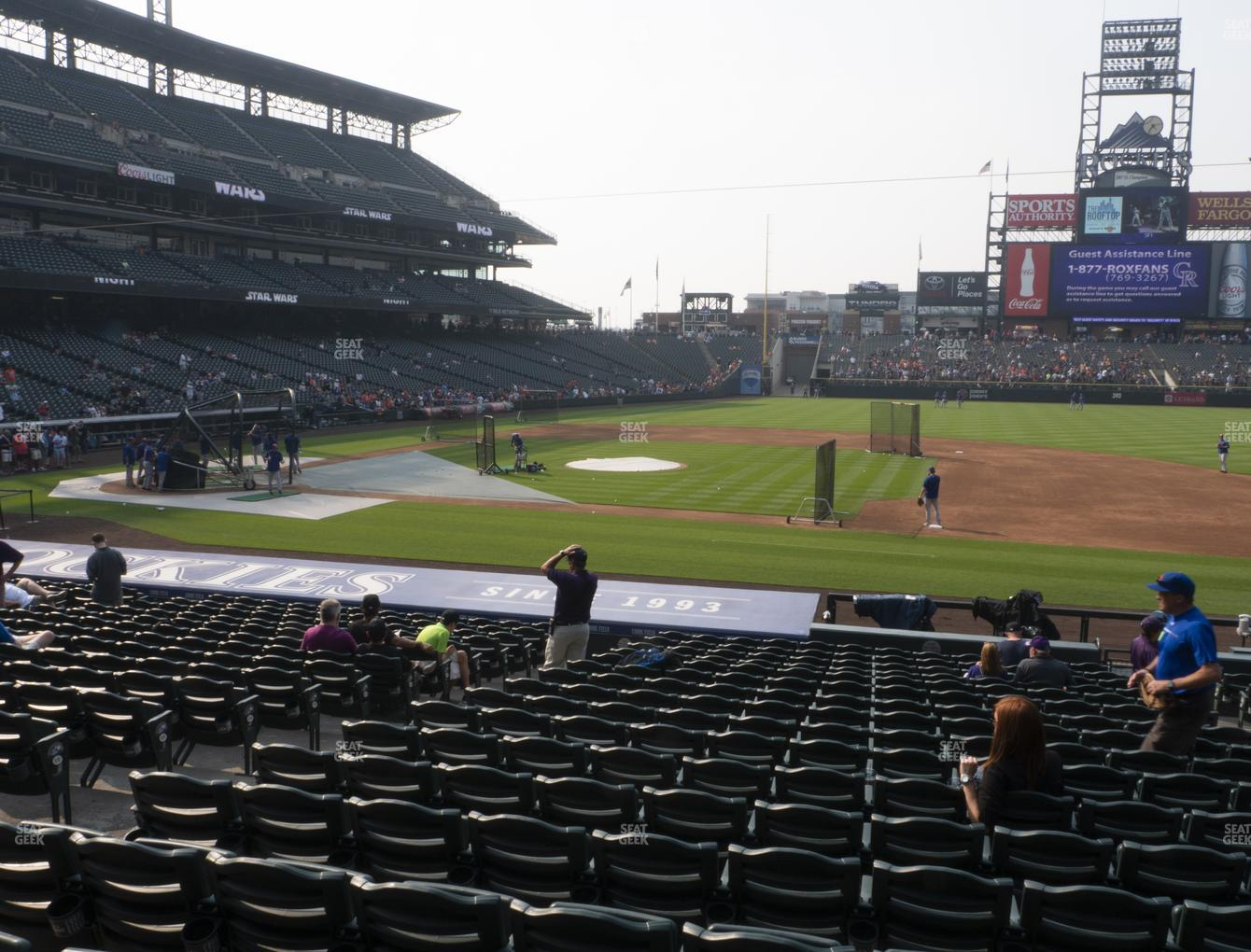 Coors Field Section 122 Seat Views Seatgeek