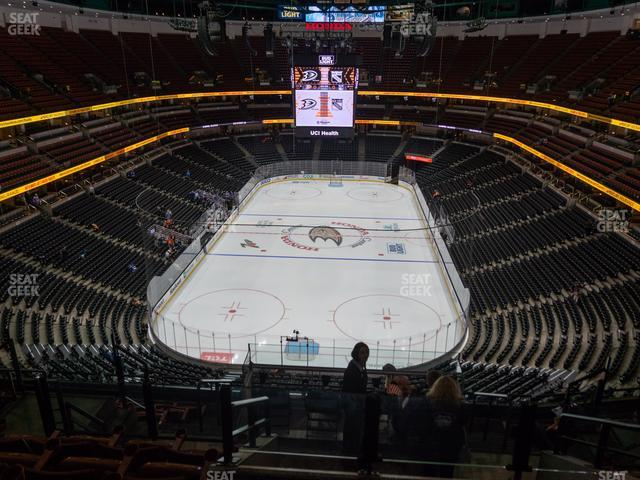 Honda Center Section 444 view