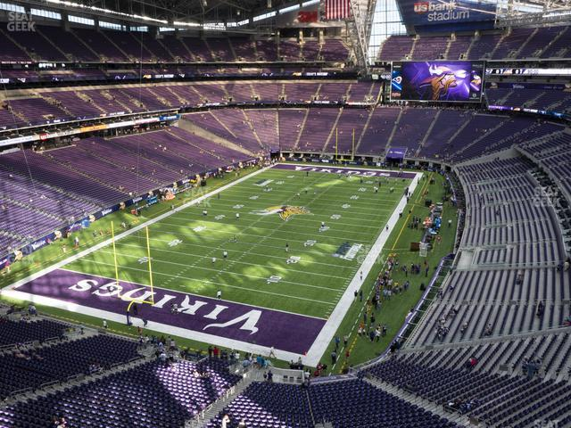 U.S. Bank Stadium Section 351 view