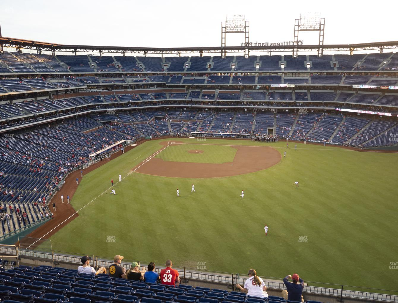 Philadelphia Phillies at Citizens Bank Park Section 302 View