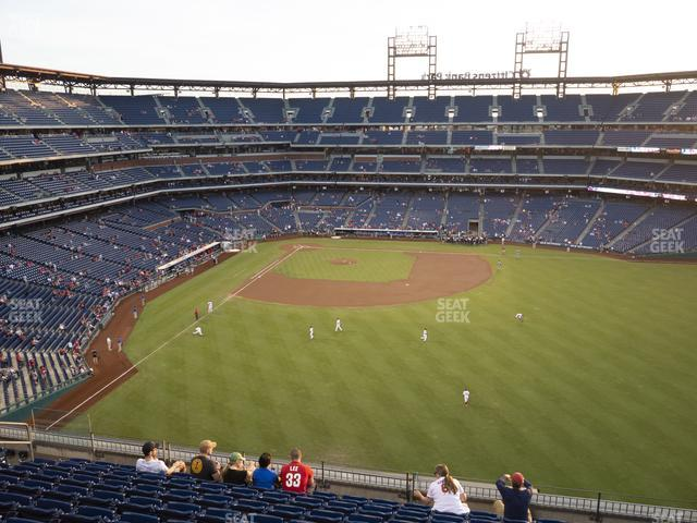 Citizens Bank Park Section 302 view