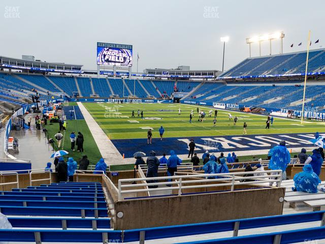 Kroger Field Section 33 view