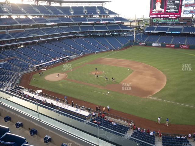 Citizens Bank Park Section 313 view