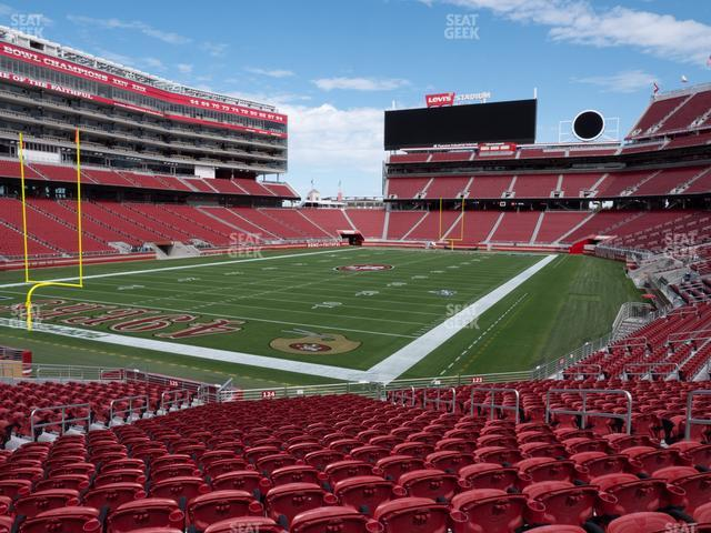 Levi's Stadium Section 124 view