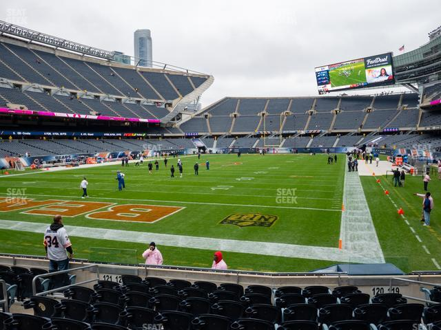 Soldier Field Section 120 view