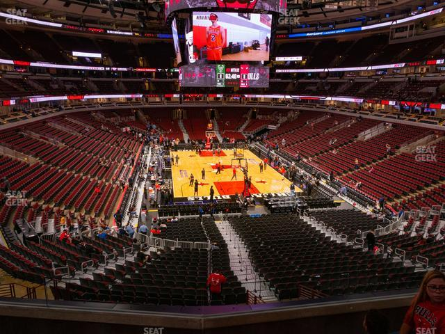 United Center Section 227 view