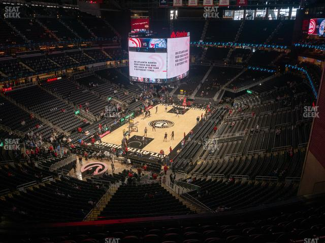State Farm Arena Section 213 view