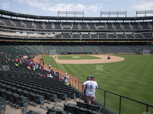Globe Life Park Section 42 view