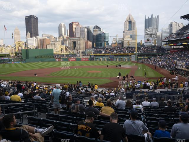 PNC Park Section 119 view