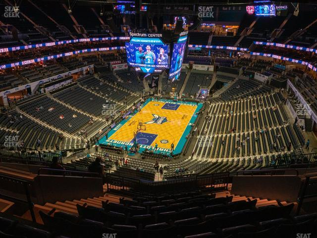 Spectrum Center Section 232 view