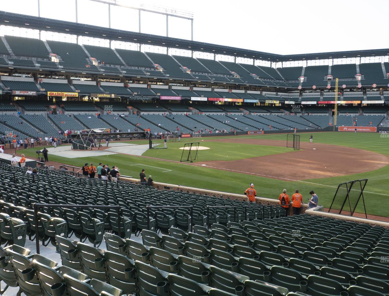 Oriole Park At Camden Yards Section 14 Seat Views Seatgeek