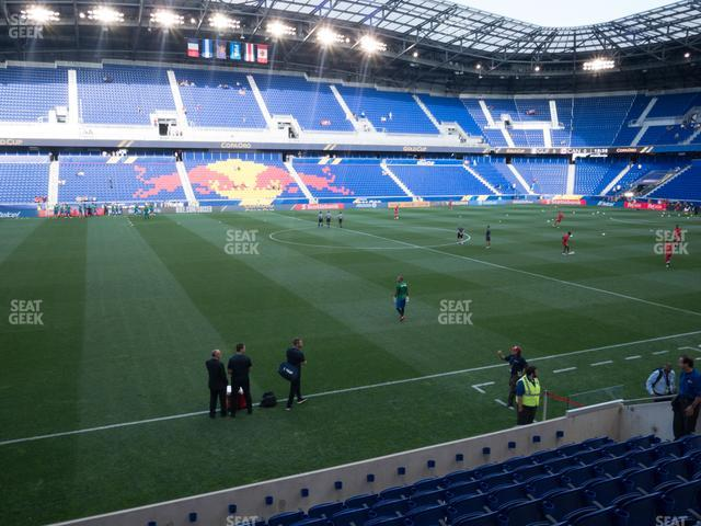Red Bull Arena Section 111 view