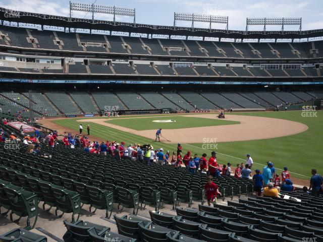 Globe Life Park Section 39 view